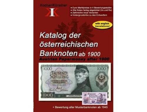 Katalog der österreichischen Banknoten ab 1900