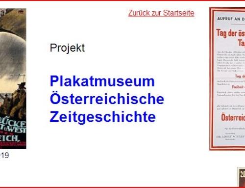 Projekt zur Gründung eins Plakatmuseums