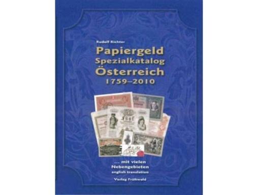 Rudolf Richter – Papiergeld Spezialkatalog 1759-2010