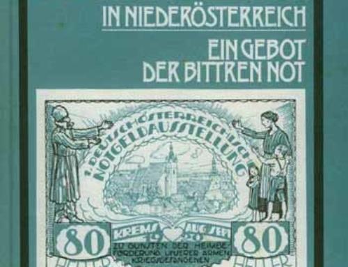 """Komplettabdruck """"Notgeld in Niederösterreich"""""""