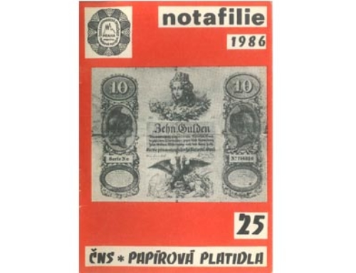 Notafilie Band 25 – CNS * Papirova Platidla