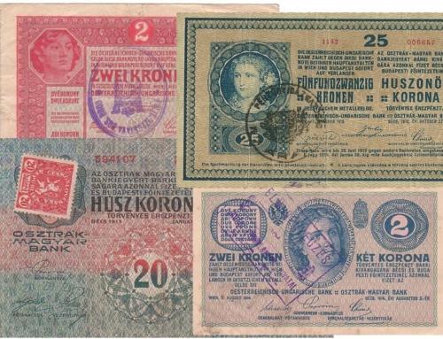 Neu auf der Webseite: Bildarchiv von über 3.000 Kronen-Abstempelungen