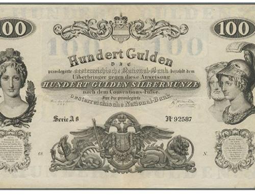 Versteigerung von prächtiger Guldensammlung bei Auktionen Gärtner