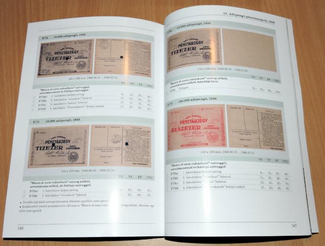 neuer katalog der ungarischen banknoten banknoten. Black Bedroom Furniture Sets. Home Design Ideas