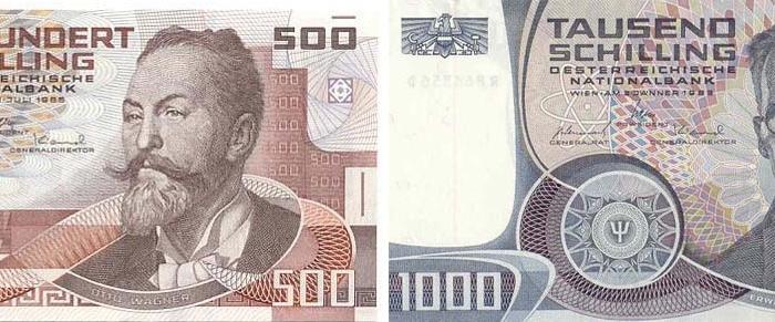 wert historischer geldscheine