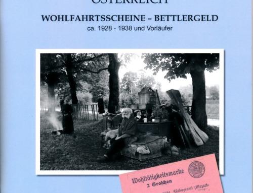 Katalog zum österreichischen Bettlergeld von Rudolf Richter
