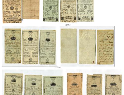 Auktions-Vorbericht: Bei Sincona gibt es Gulden Banknoten in der Familienpackung
