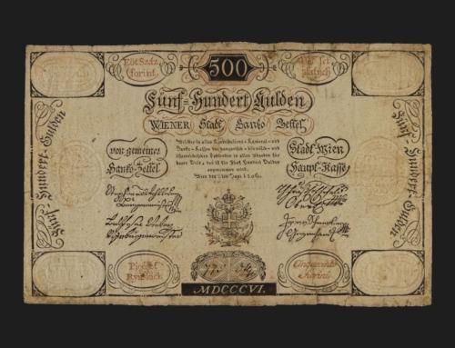 Banknotenpreise erklimmen neue Höhen