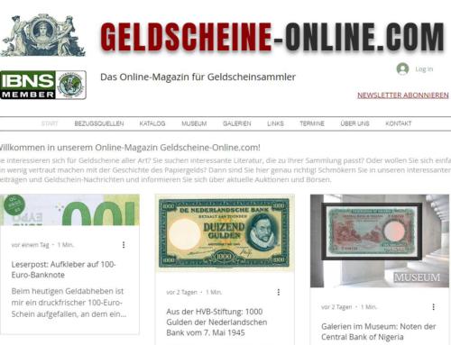 Geldscheine-Online.com – Online-Magazin zum Thema Papiergeld